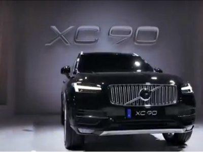 新型XC90の発表イベント