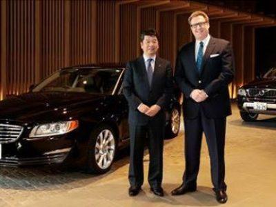 S80とXC90が「アマン東京」のホテルカーに採用