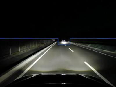 対向車や先行車の部分だけを遮光する、新世代のハイビーム