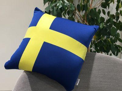 Sweden Flag クッション