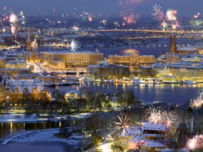 スウェーデンの花火