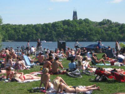 北欧流、暑い日の過ごし方