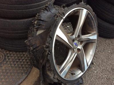 タイヤの点検していますか?