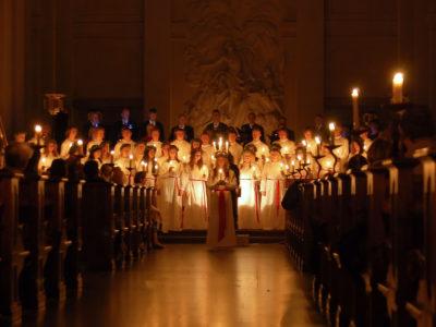 スウェーデンの代表行事 聖ルシア祭